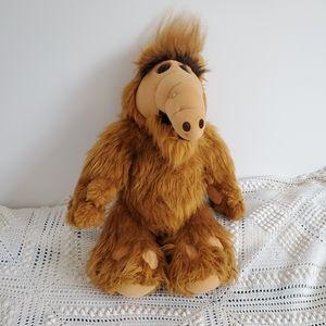 """Vintage Coleco 18"""" Alf Plush toy 1986"""